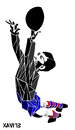 Cartoon: Ramallets (small) by Xavi Caricatura tagged ramallets,fc,barcelona,futbol,football,goalkeeper,portero