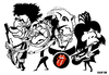 Cartoon: The Rolling Stones 00s (small) by Xavi Caricatura tagged the,rolling,stones,caricature,rock,music,keith,richards,charlie,watts,mick,jagger,ron,wood
