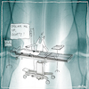 Cartoon: Dream me up scotty (small) by kika tagged narkose,anästhesie,anästhesisit,op,operation,krankenhaus,patientin