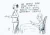 Cartoon: Torte (small) by gore-g tagged arsch,torte,stuhl,restaurant