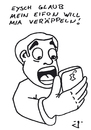 Cartoon: Ver-Appel-t (small) by gore-g tagged apple,iphone,smartphone