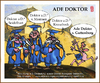 Cartoon: Ade Doktor (small) by zenundsenf tagged guttenberg,doktor,plagiat,zenf,zensenf,zenundsenf,walter,andi