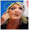 Cartoon: Le Pen (small) by zenundsenf tagged andi,walter,augsburg,cartoon,composing,eu,europäische,union,fn,karikatur,marine,le,pen,national,front,parlamentsassistent,zweckentfremdet,vorsitzende,zenf,zensenf,zenundsenf