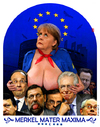 Cartoon: Merkel Mater Maxima (small) by zenundsenf tagged andachtsbild,brüssel,bundeskanzler,illustration,karikatur,kartoon,merkel,cartoon,mutter,maria,pleite,walter,andi,zenf,zensenf,zenundsenf,angela,barroso,cameron,caricature,eu,euro,crisis,depts,german,chancellor,hollande,mary,mother,monti,obama,rajoy,rompuy