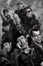 Cartoon: Expendables Parody (small) by Rey Esla Teo tagged caricature,portrait,digital,painting,expendables