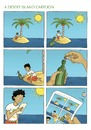 Cartoon: A desert island cartoon (small) by badham tagged desert island cartoon badham