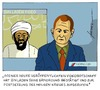 Cartoon: Die Welt nach Osama bin Laden (small) by badham tagged osama bin laden tod usa afghanistan pakistan heiliger krieg dschihad terrorismus terror al qaida exekution badham hammel