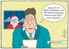 Cartoon: Merry Christmas... (small) by badham tagged hammel badham santa claus weihnachten weihnachtsmann christmas xmas rücktritt nachrichten news