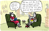 Cartoon: verhökern (small) by kittihawk tagged kittihawk,2015,wm,2006,beckenbauer,interview