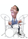 Cartoon: Art Blakey (small) by Ricardo Soares tagged jazz,music