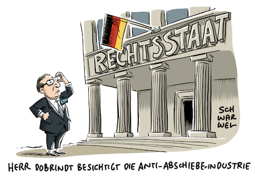 Anti Abschiebe Industrie