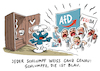Cartoon: AfD Pegida Chemnitz (small) by Schwarwel tagged afd,alternative,für,deutschland,pegida,dresden,chemnitz,sachsen,rechtsextremismus,rechtsextrem,rechtspopulismus,rechtspopulisten,nazi,nazis,nonazis,partei,politik,politiker,höcke,von,storch,gauland,weidel,cartoon,karikatur,schwarwel