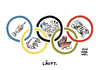 Cartoon: Olympia Doping Demo Drohung (small) by Schwarwel tagged olympia,olympische,spiele,doping,dopingdebatten,demo,demos,demonstration,drohung,träger,olympischer,orden,rio,karikatur,schwarwel