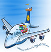 Cartoon: Airbus A380 Contest (small) by toonpool com tagged airbus380 airbus flugzeug plane contest