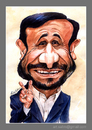 Cartoon: Ahmedi Nejad - Caricature (small) by Abdul Salim tagged caricature,ahmedi,nejad,watercolor,art