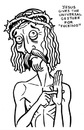 Cartoon: toon 06 (small) by kernunnos tagged jesus,stigmata,rude,hand,gestures,christ