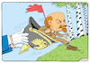 Cartoon: Lenin 1917 (small) by Igor Kolgarev tagged lenin,germany,russia,revolution,1917,coup,october