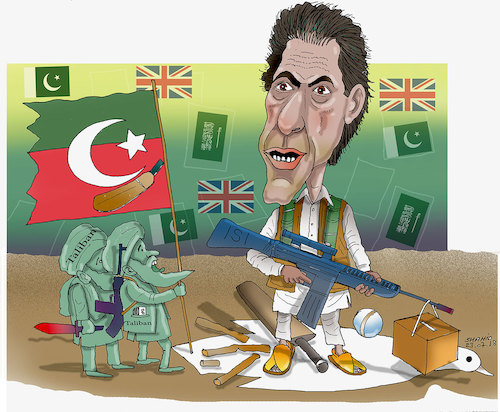 Cartoon: Pakistan New Prime ..! (medium) by Afghancartoon tagged afghanistan,balkh,helmand,kabul,london,nangarhar,and,ghor,attack