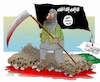 Cartoon: Black flag is The Continuation o (small) by Afghancartoon tagged afghanistan,mujahedden,taluban,isis