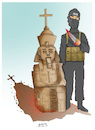 Cartoon: Egypt terror attack ! (small) by Afghancartoon tagged afghanistan,helmand,kabul,attacks