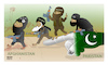 Cartoon: Pakistan is the nest of terror! (small) by Shahid Atiq tagged afghanistan