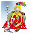 Cartoon: Sultan Erdogan ! (small) by Afghancartoon tagged trukey
