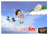 Cartoon: Tribute to Maradona ! (small) by Shahid Atiq tagged afghanistan