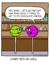 Cartoon: Hey Toots...ie.. (small) by sardonic salad tagged candy,cartoon,comic,tootsie,pop,sardonic,salad