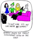 Cartoon: morally indifferent (small) by sardonic salad tagged wizard,of,oz