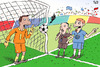 Cartoon: football (small) by beto cartuns tagged soccer,shot