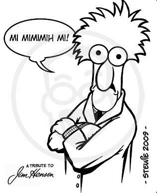 Cartoon: Beaker (medium) by stewie tagged beaker