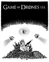 Cartoon: Game of Drones U.S. (small) by stewie tagged spy,espionage,spionage,spion