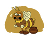 Cartoon: How not to make honey (small) by stewie tagged bee,honey
