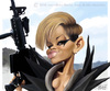 Cartoon: Rihanna (small) by jmborot tagged rihanna,caricature,jmborot