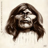 Cartoon: Victorio (small) by jmborot tagged victorio,apache,caricature,jmborot