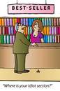 Cartoon: Bestseller (small) by Alexei Talimonov tagged books bestseller