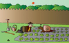 Cartoon: Gardening (small) by Alexei Talimonov tagged gardening,snail