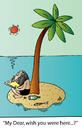 Cartoon: My Dear (small) by Alexei Talimonov tagged island