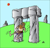 Cartoon: Stone Swing (small) by Alexei Talimonov tagged stone swing