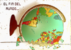 Cartoon: El fin del mundo (small) by apestososa tagged mundo,fin