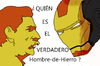 Cartoon: IRONMAN? (small) by apestososa tagged hombre,hierro,ironman