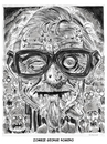Cartoon: Zombie George Romero (small) by Cartoons and Illustrations by Jim McDermott tagged zombie georgeromero caricatures movies horror scarry