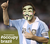 Cartoon: Occupy Brazil - Messi (small) by Political Comics tagged football,fifa,brazil,worldcup,2014,brasil,occupybrazil