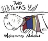 Cartoon: Two Years Mohammed Malaka (small) by Political Comics tagged stop,bombing,gaza,mohammed,malaka,palestine,palestina