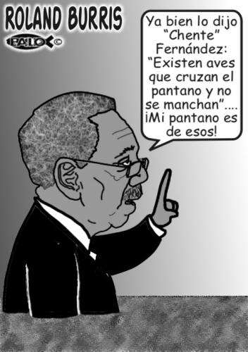 Cartoon: Roland Burris (medium) by Empapelador tagged usa,obama