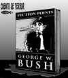Cartoon: El libro de Bush (small) by Empapelador tagged bush,usa