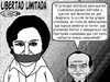 Cartoon: Libertad limitada (small) by Empapelador tagged mexico,aristegui,libertad,de,expresion,calderon