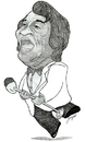Cartoon: James Brown (small) by Jorge A tagged tintas