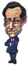 Cartoon: Sarkozy (small) by jean gouders cartoons tagged sarko,nicolas,sarkozy,france,president,jean,gouders