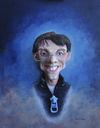 Cartoon: portraitpitch (small) by lloyy tagged portraitpitch,3d,real,caricature